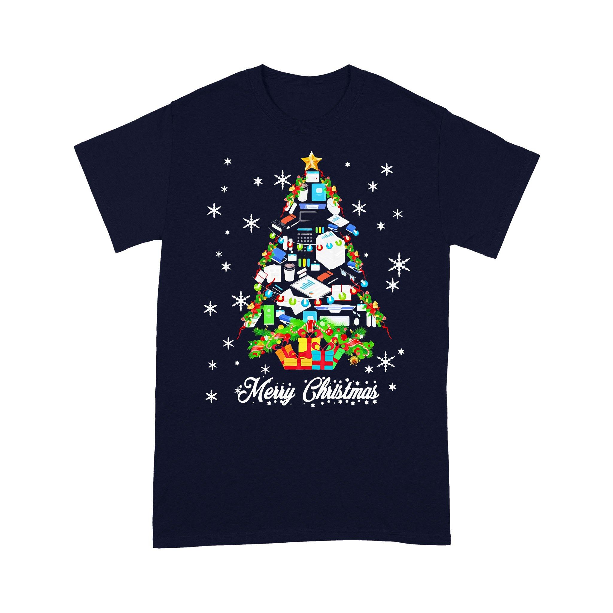 Accountant Merry Christmas T-shirt
