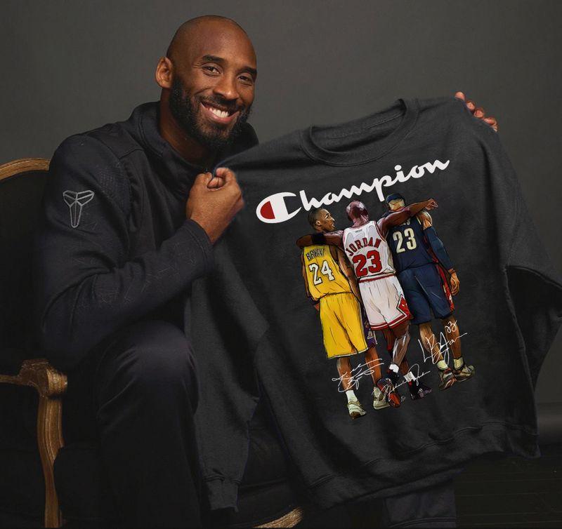 Basketball Champions Black T Shirt