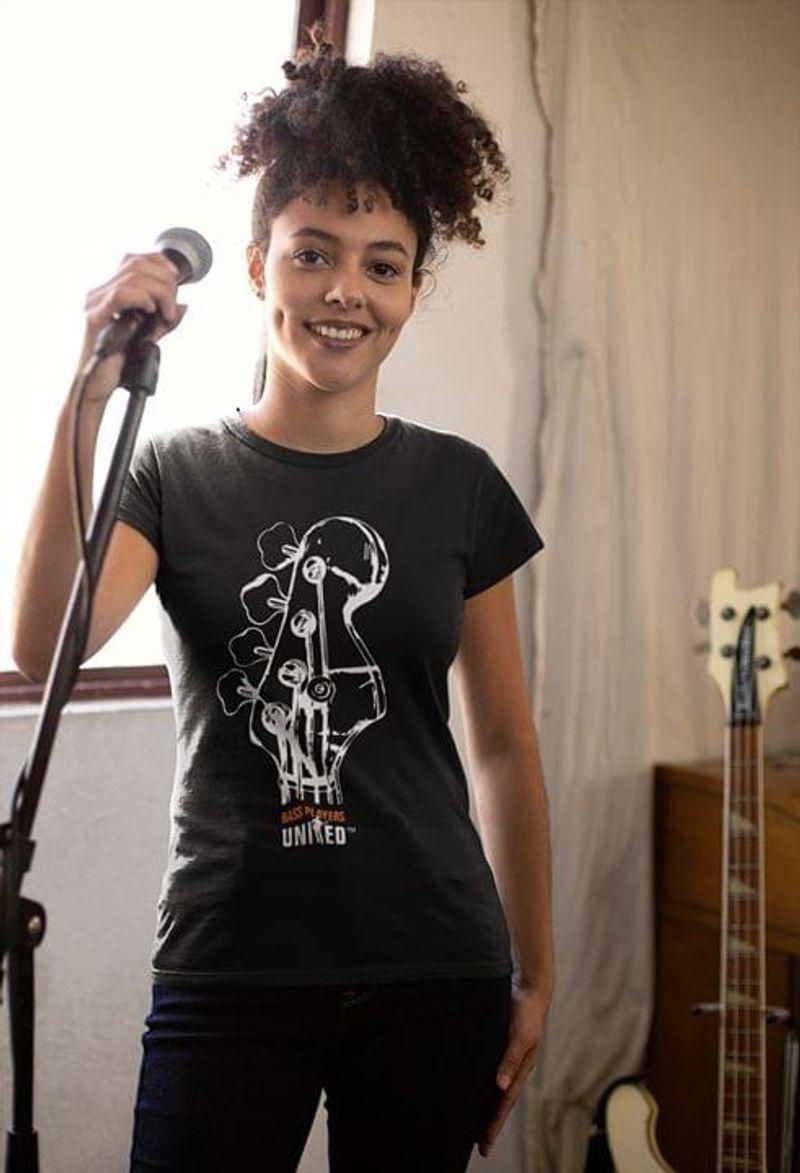 Bass Guitar Bass Player United Electric Guitar Guitarist Ideal Gift BlackT Shirt Men/ Woman S-6XL Cotton