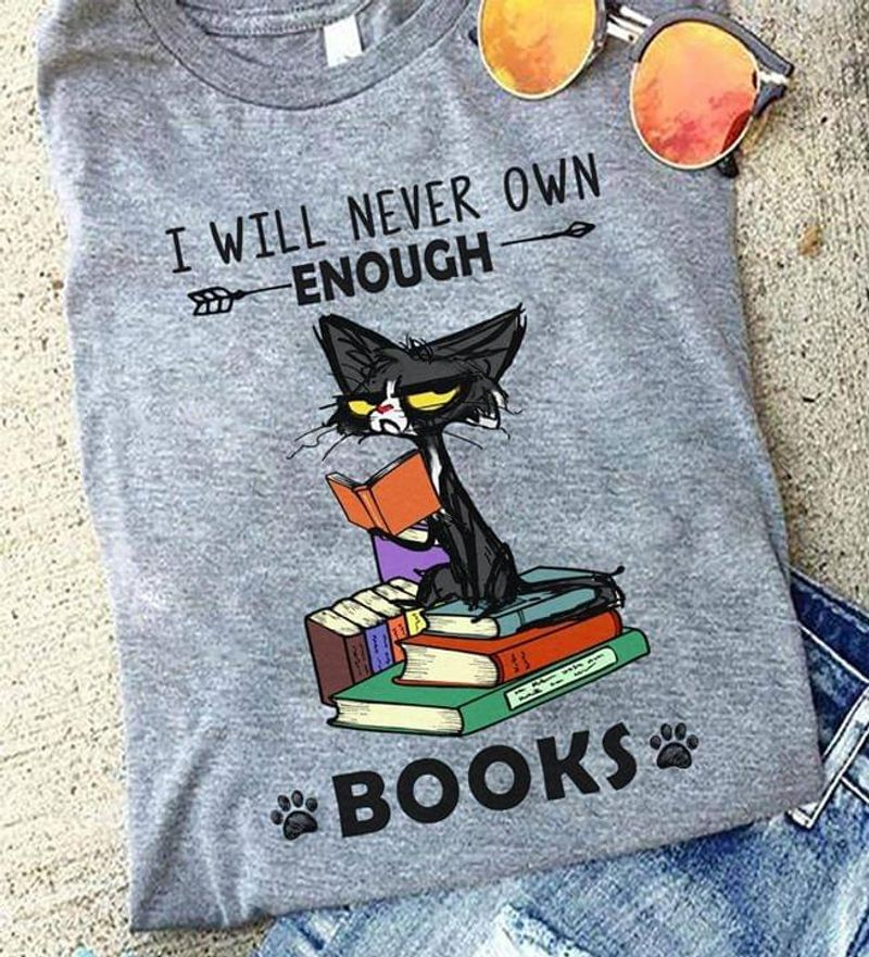 I Rescue Orphaned Books Lovers Reading Literature Black T Shirt Men And Women S-6XL Cotton