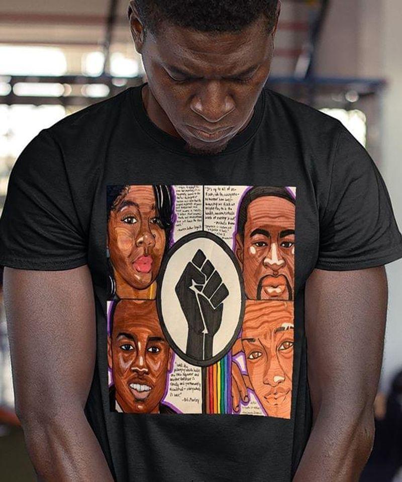 Black Girls Are Beautiful Lgbt Pride Black Lives Matter Black T Shirt Men And Women S-6XL Cotton