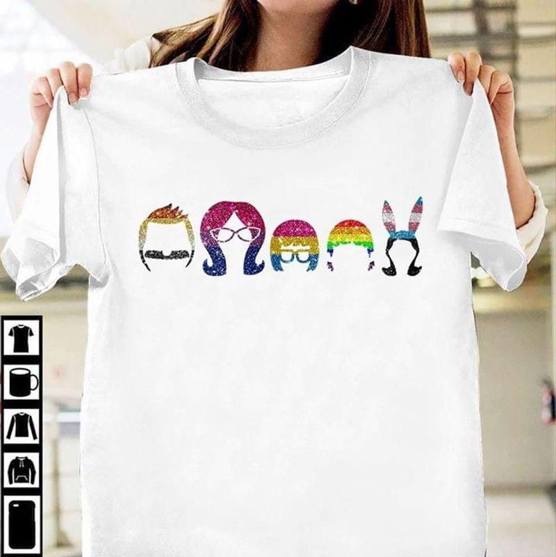 Bob'S Burger Family Cartoon T Shirt Men/ Woman S-6XL Cotton