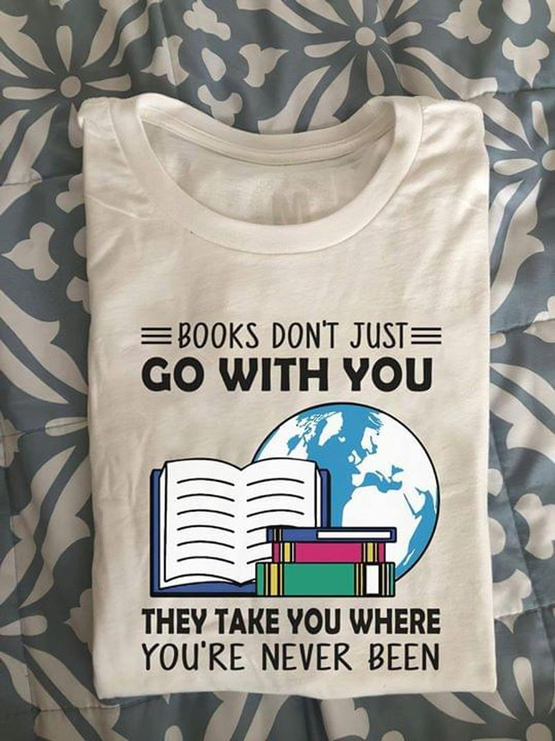 Reading Is My Favorite Sport Rose And Books Lovers White White T Shirt Men And Women S-6XL Cotton