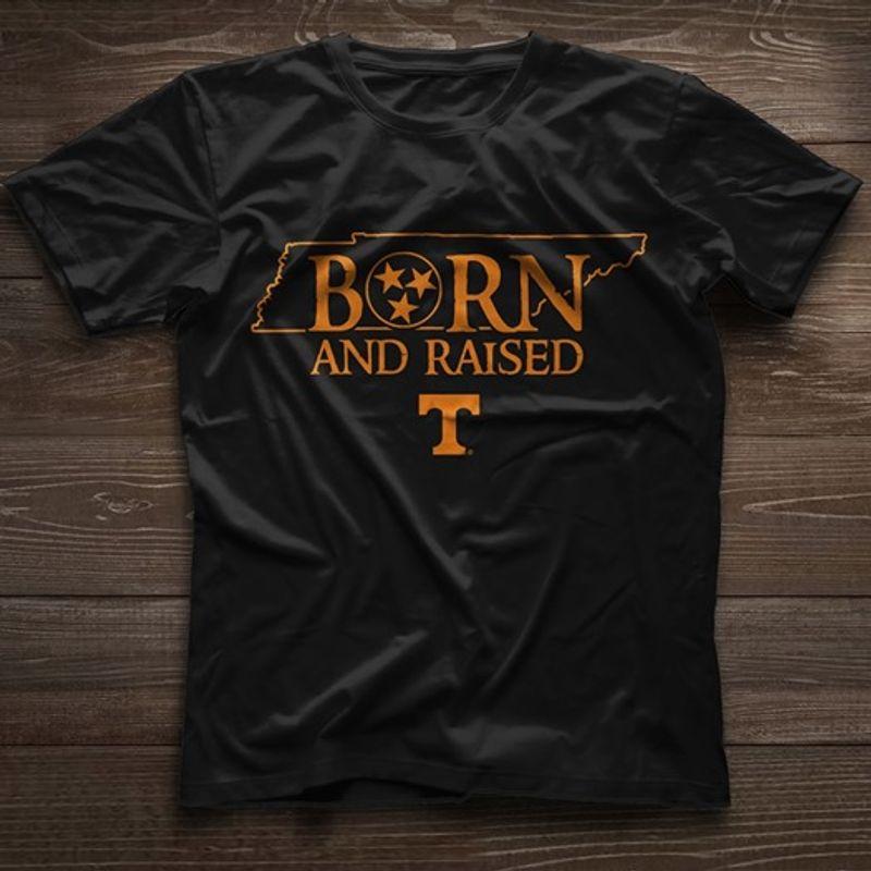 Born And Raised T T-shirt Black B5