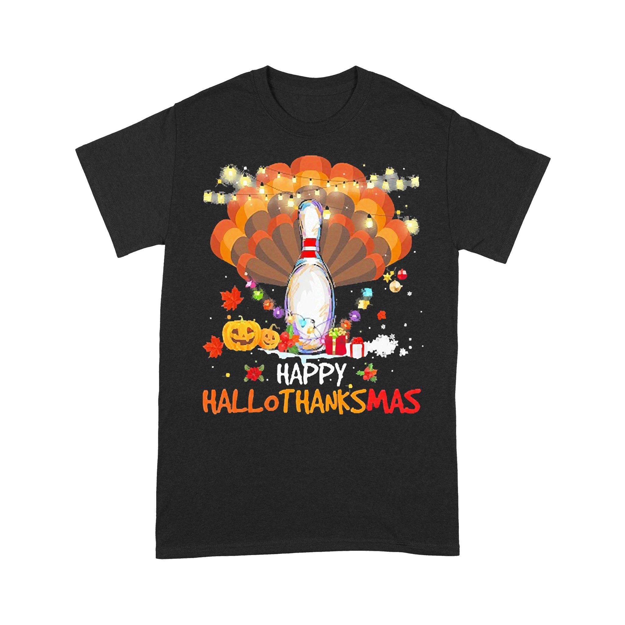 Be Nice To The Veteran Santa Is Watching Ugly Christmas T-shirt