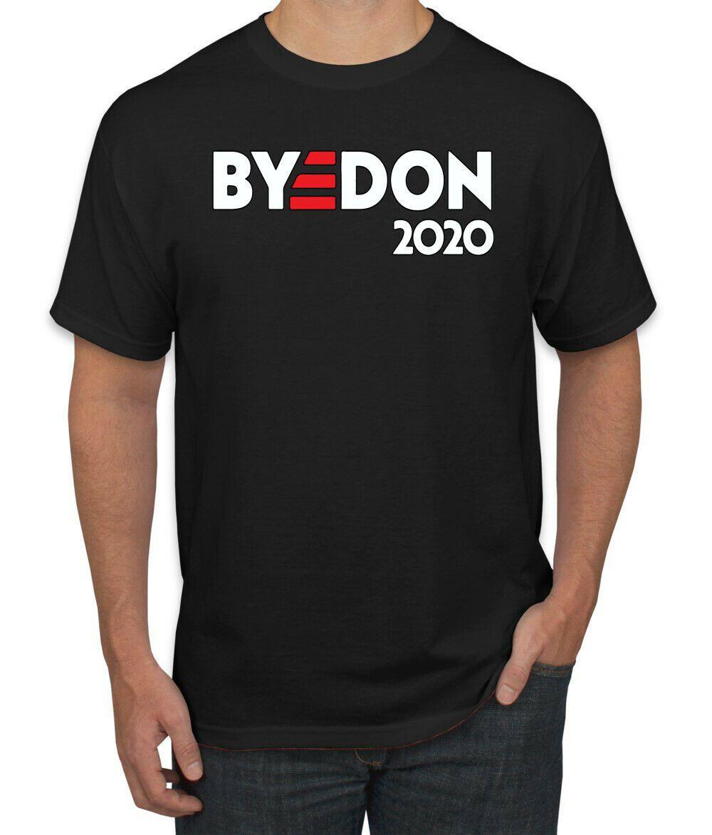 BYEDON 2020 Cartoon T-Shirt Bye Don Joe Biden Donald Trump Election