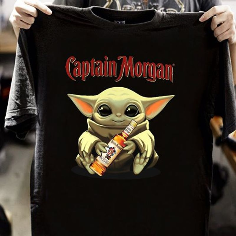 Captain Morgan T-shirt Black A1