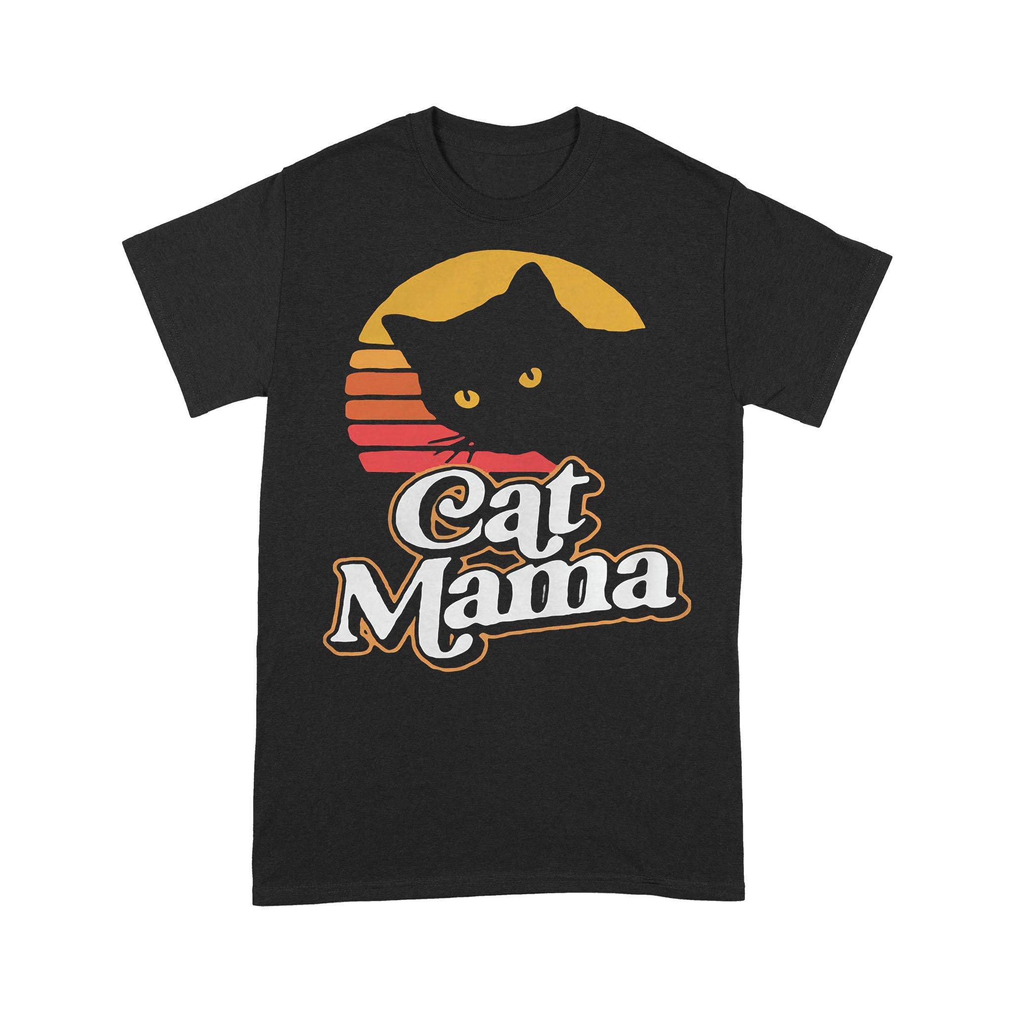 Cat Mama Vintage T-shirt