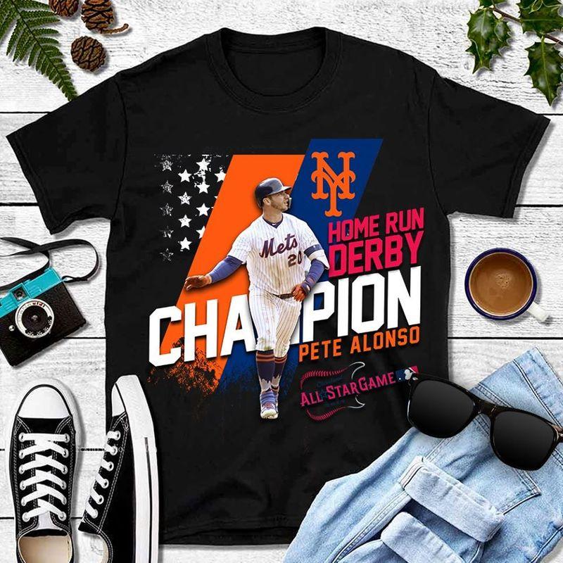 Champion Home Run Derby Pete Alons All Star Game  T-shirt Black B1