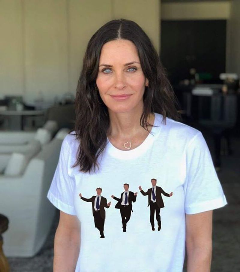 Chandler Bing Dancing Friends Mathew Perry Nbc Sitcom Animated Dance Awesome Gift For Chandler Bing Lovers White T Shirt S-6xl Mens And Women Clothing