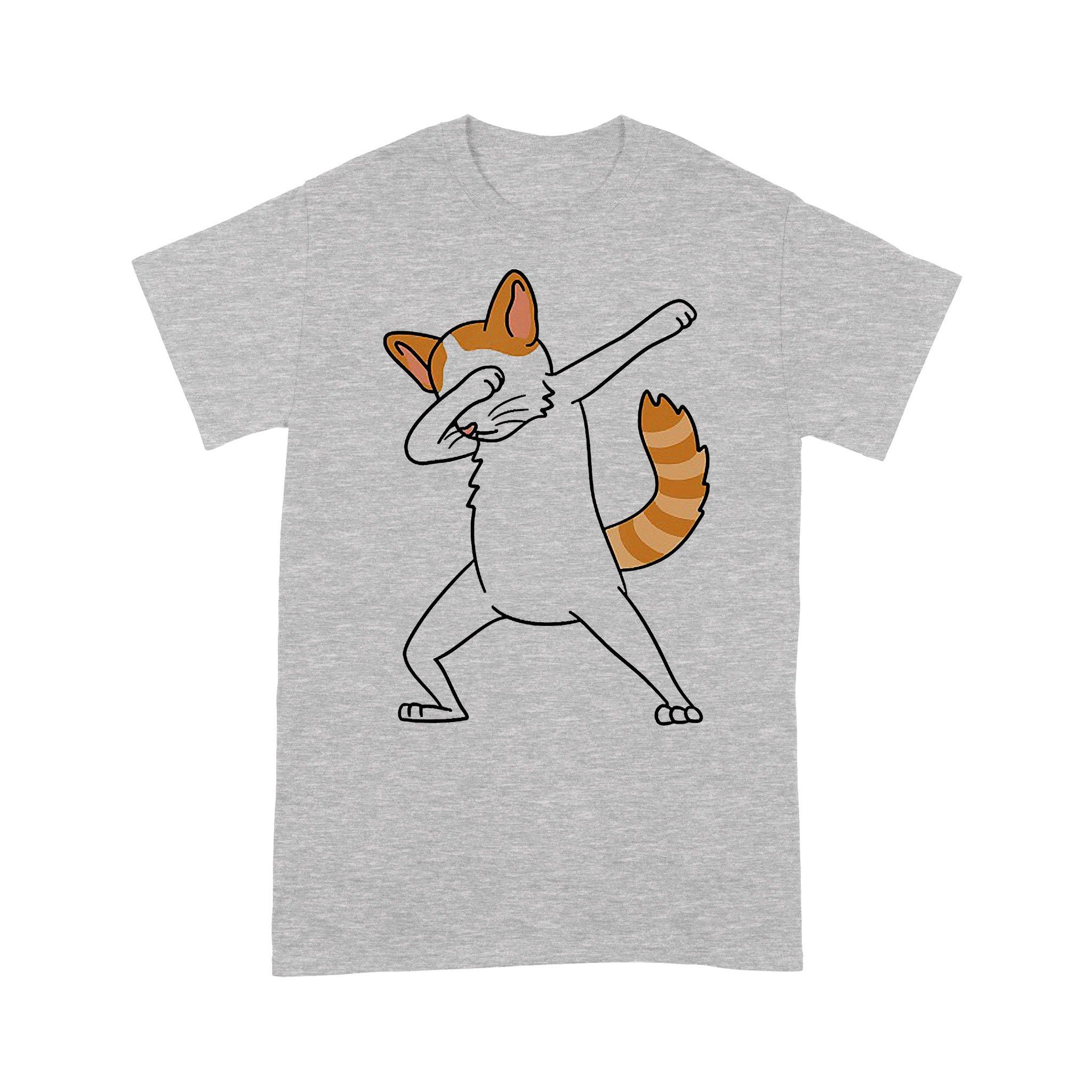 Dabbing Turkish Van Cat Dab Dance Funny Pet Gift T-shirt