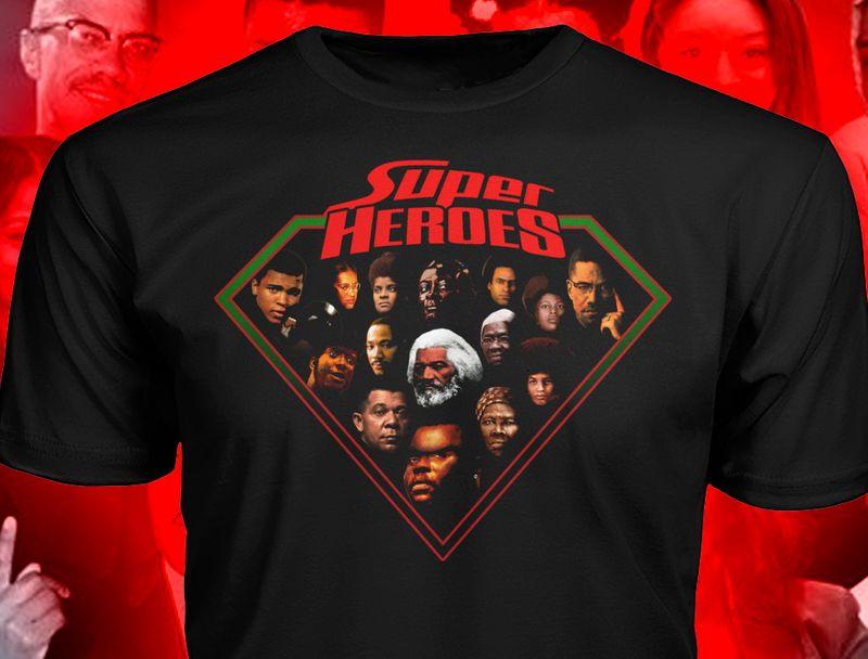 Diamond Super Heroes T Shirt Black C2