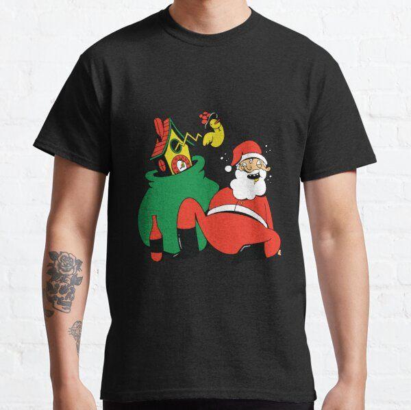 DRUNK SANTA CLAUS T-SHIRT T-Shirt