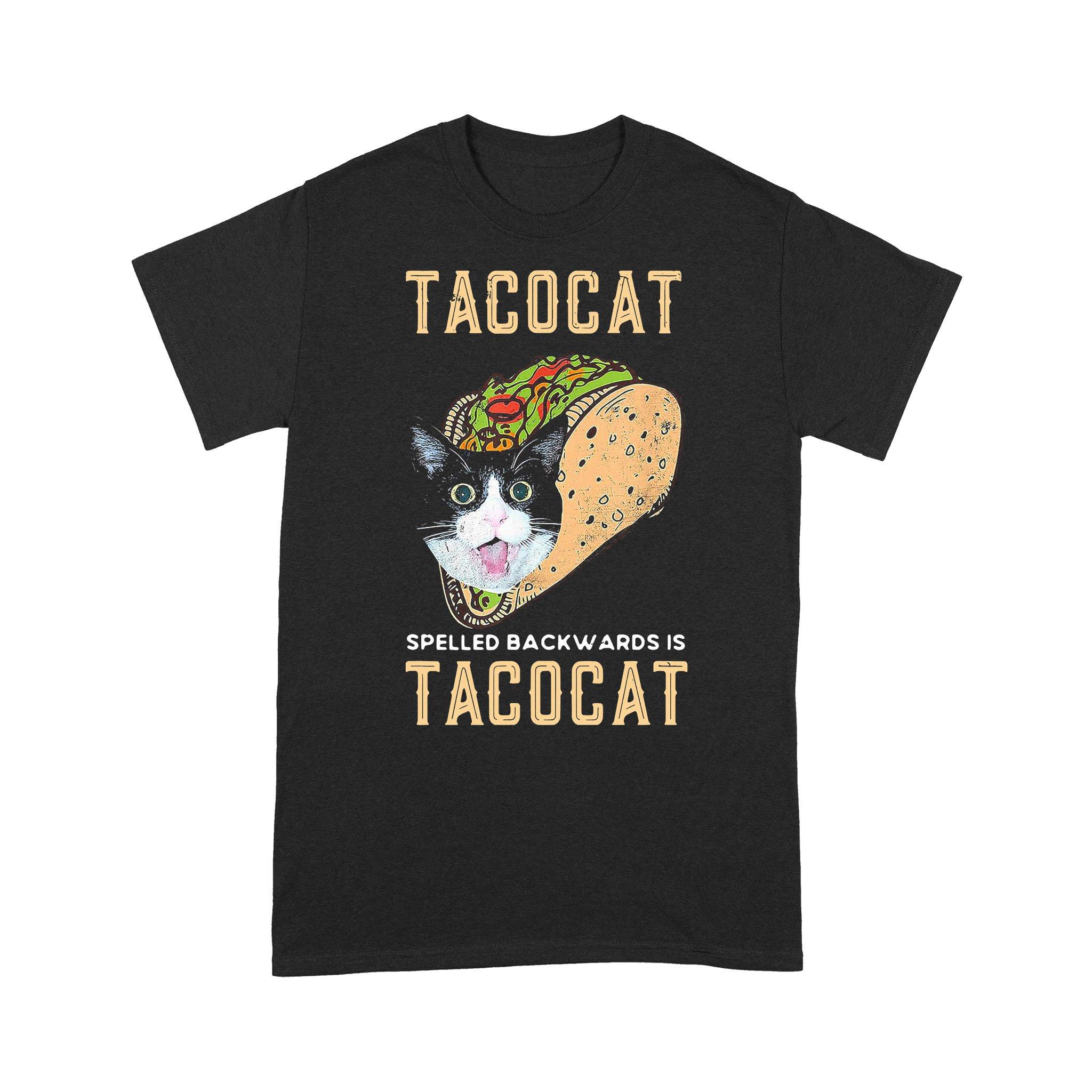 Food Lover Tacocat Spelled Backwards Is Tacocat T-shirt