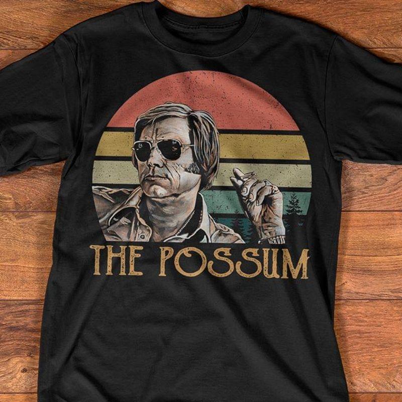 George Jones The Possum Vintage Retro Style Painting Lack T Shirt Men And Women S-6XL Cotton