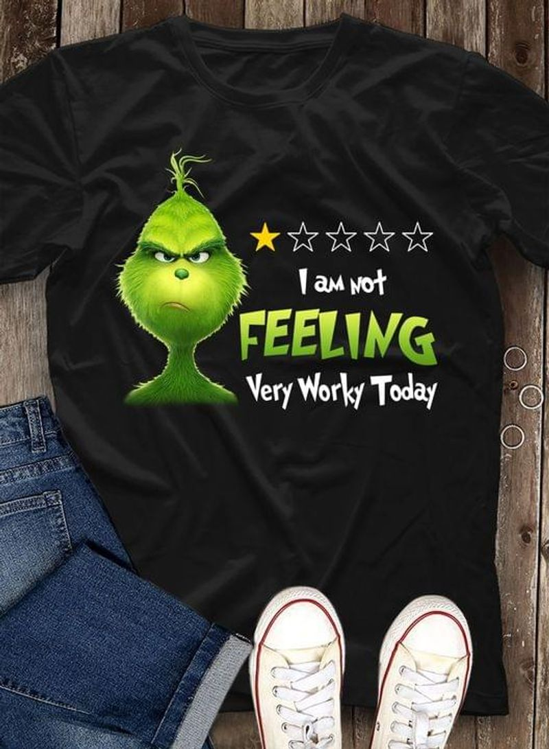Grinch I Am Not Telling Very Worry Today Gift For Fans Black T Shirt Men And Women S-6XL Cotton