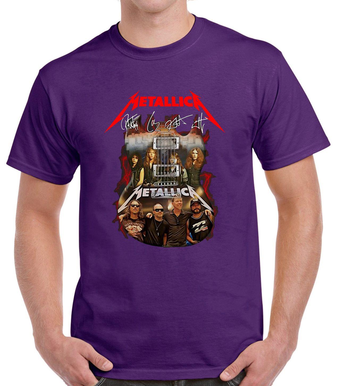 Guitar Metallica Signatures T-Shirt