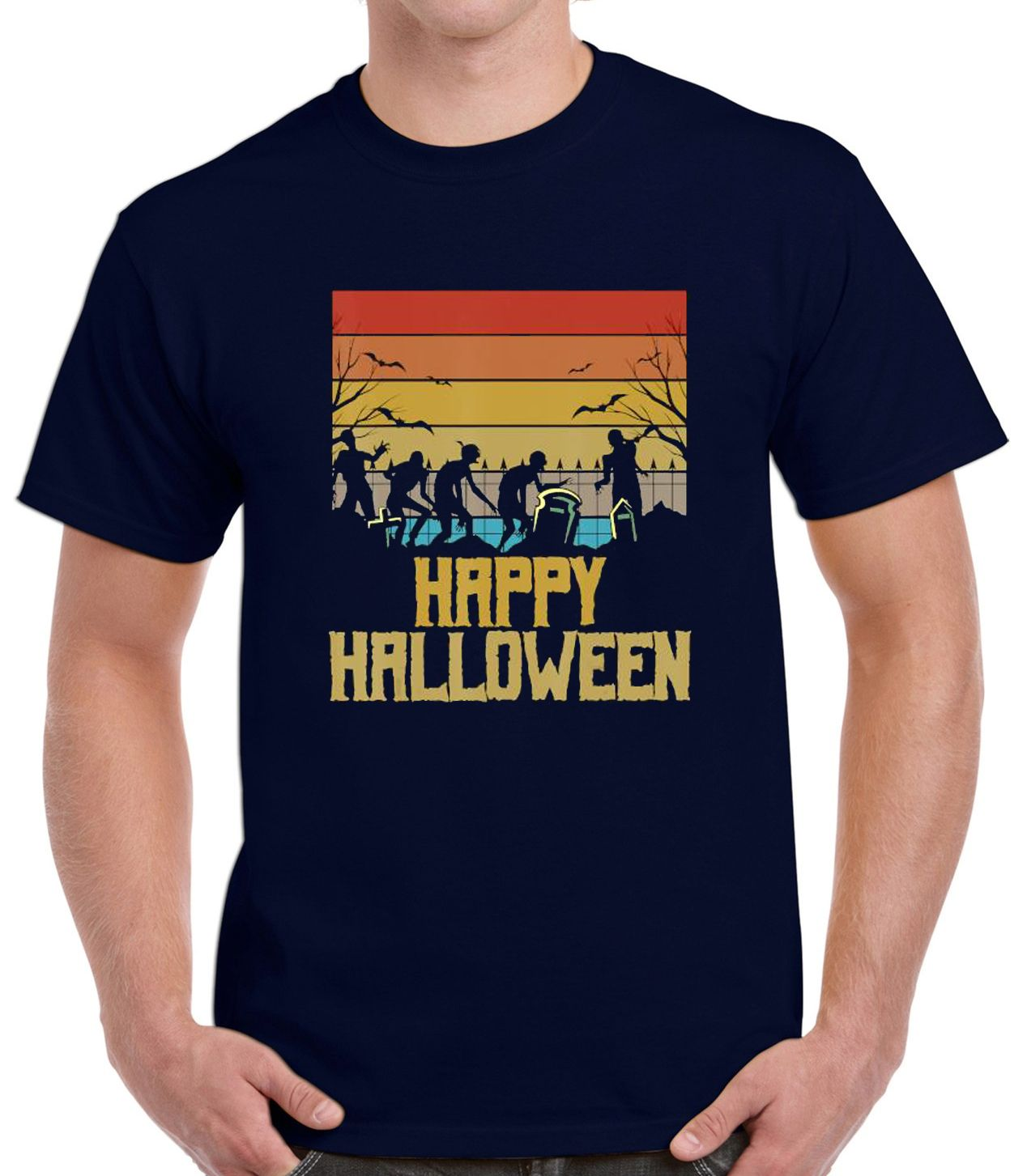 Halloween Party Celebrated Treat Funny Costume T-Shirt