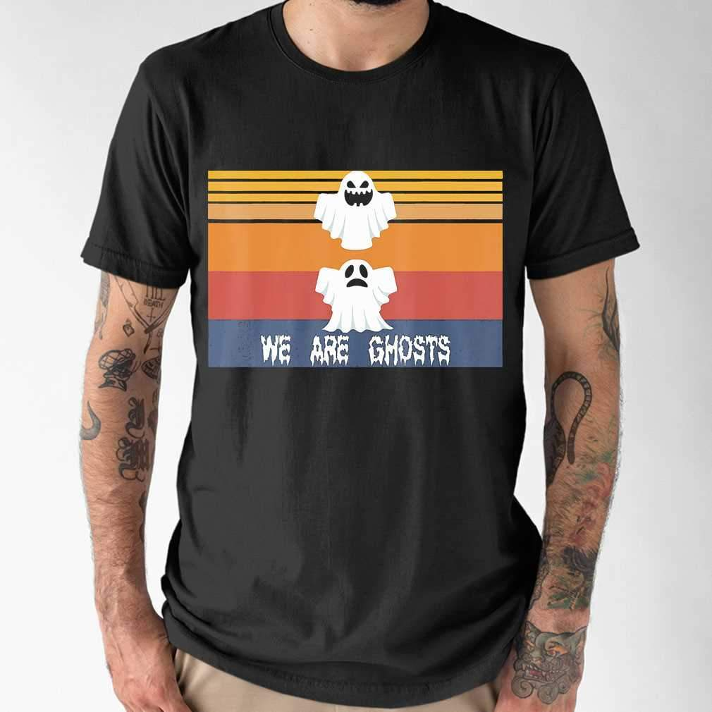 Halloween We Are Boo Ghost Vintage T-shirt