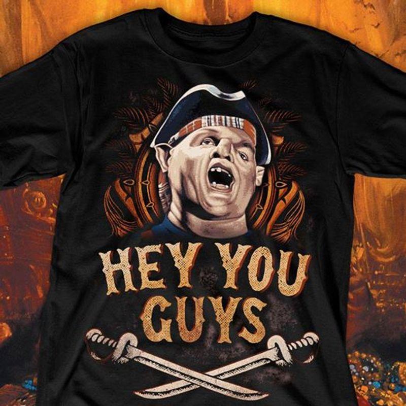 Hey You Guys  T Shirt Black A5