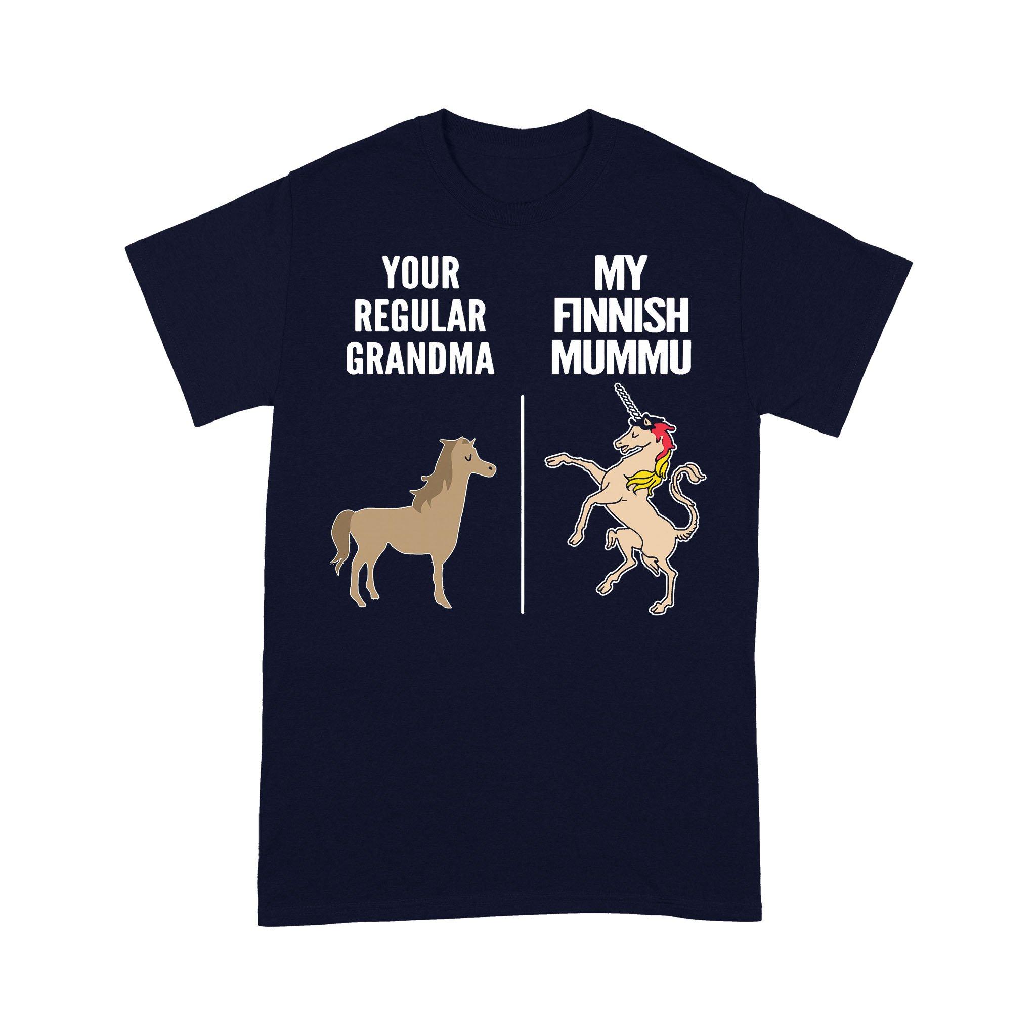 Horse Your Regular Grandma My Finnish Mummu T-shirt