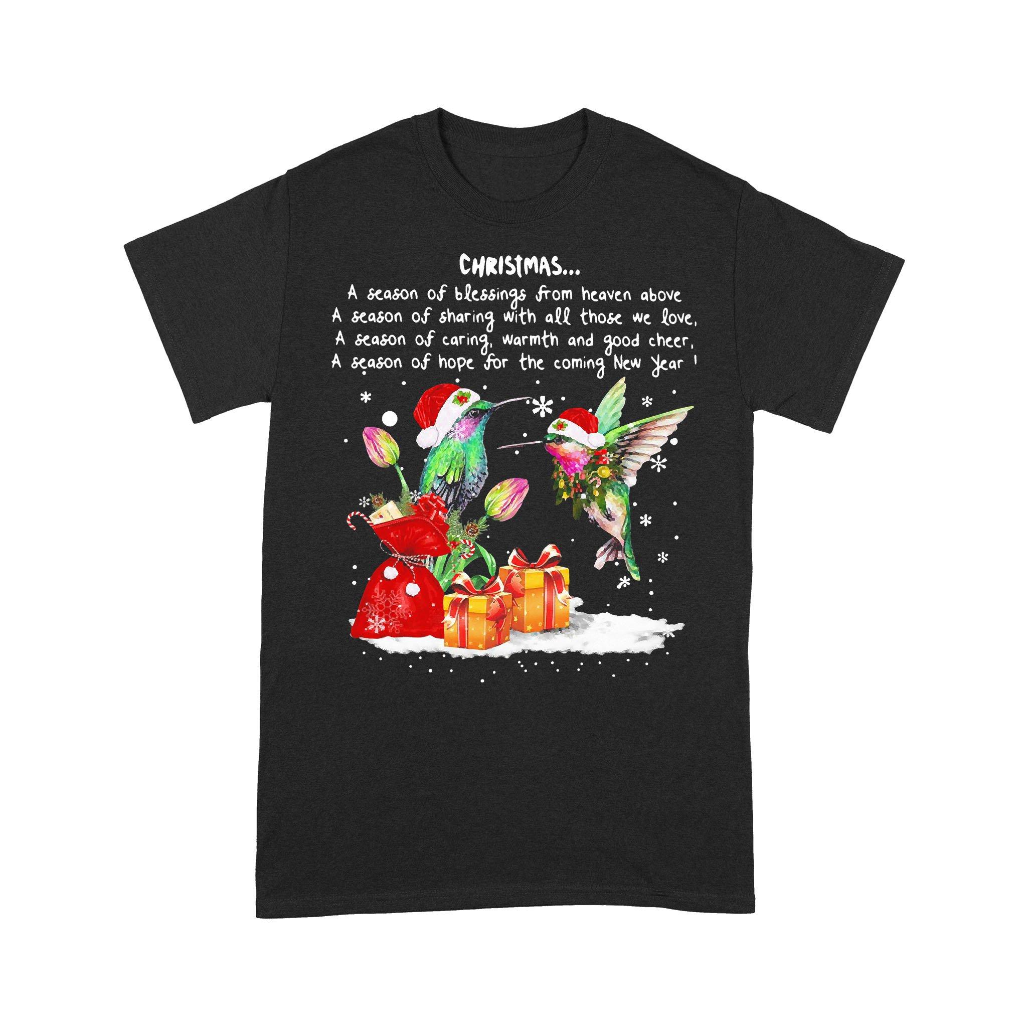 Hummingbird Christmas A Season Of T-shirt