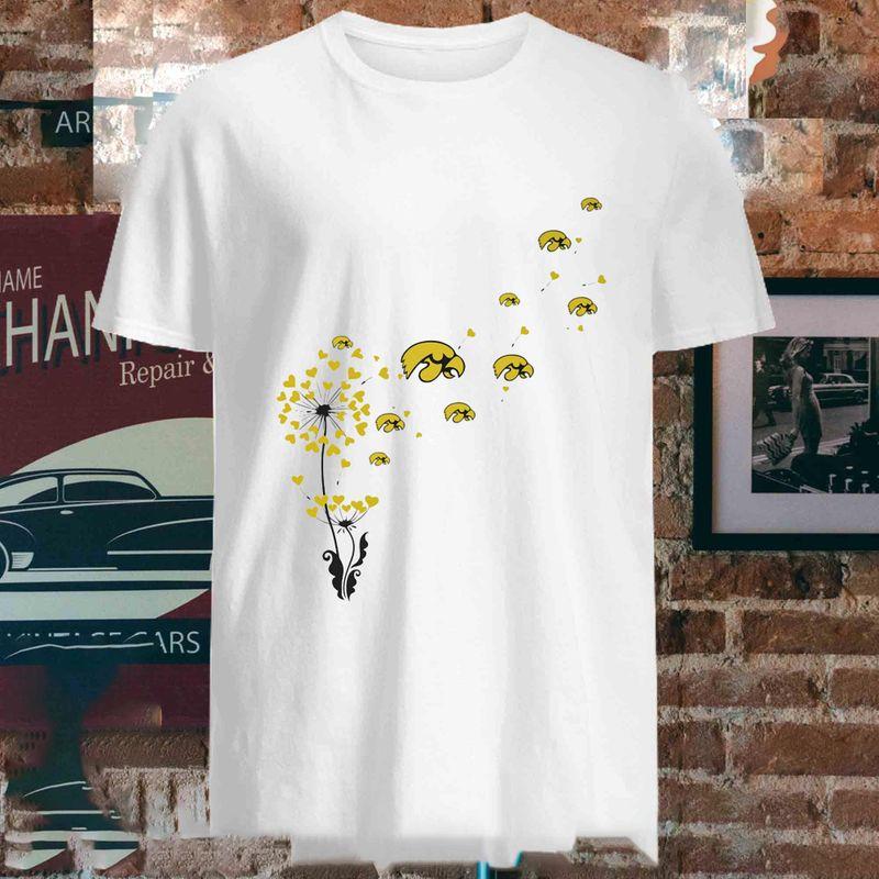 Iowa State Dandelion T Shirt White