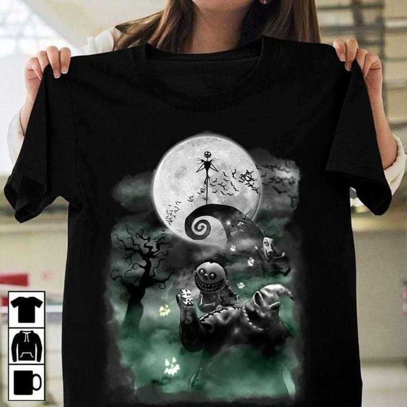 Hurrcus Purrcus Shirt Hocus Pocus Tee Black Cat Witch Halloween Cute Art White T Shirt Men And Women S-6XL Cotton