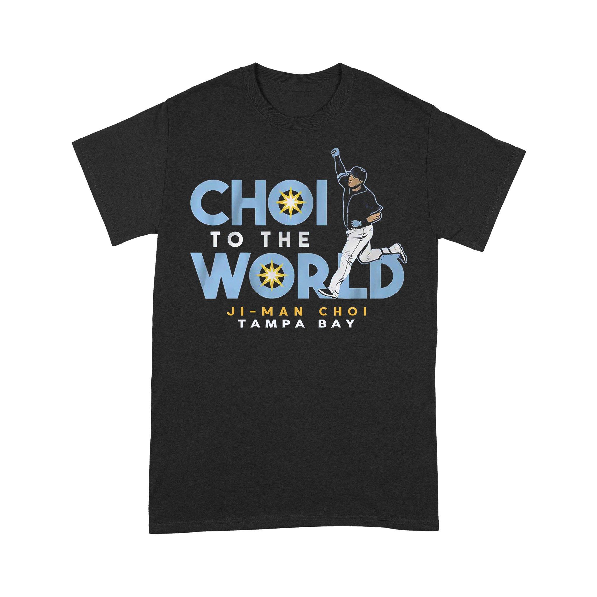 Ji Man Choi To The World T-shirt