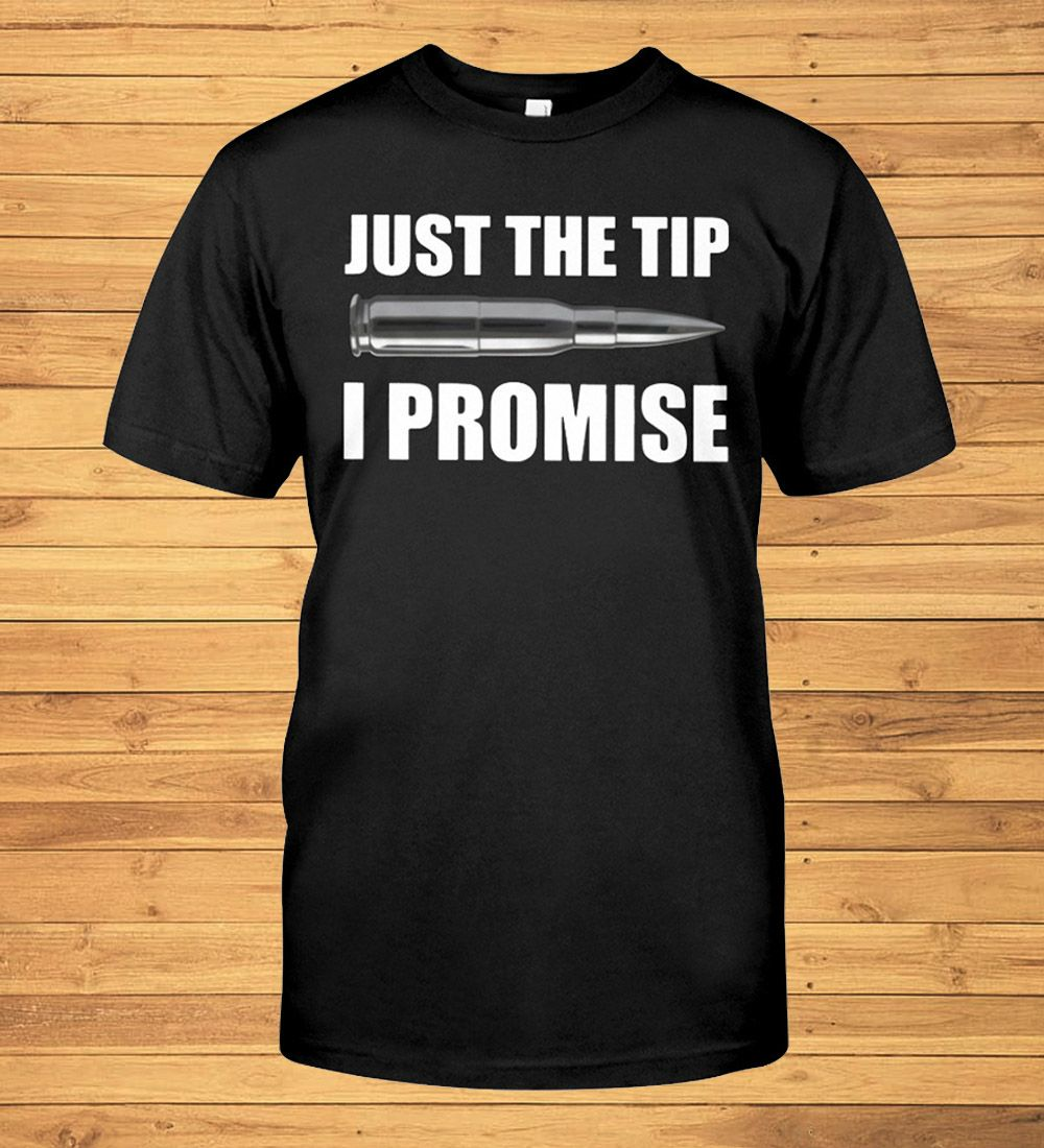 Funny Halloween Michael Myers Just The Tip I Promise T-Shirt