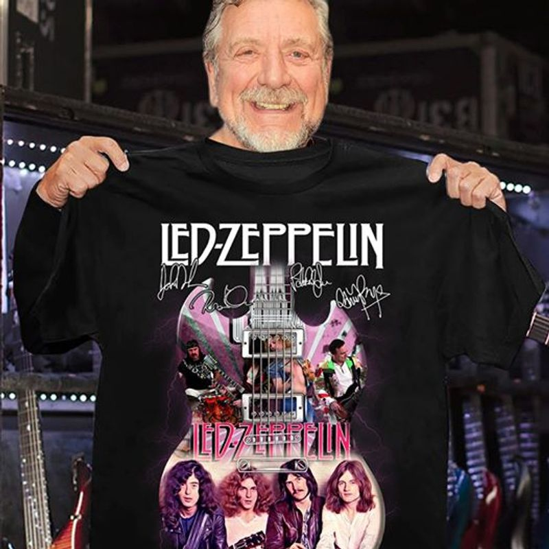 Led Zepppelin Led Zepppelin T-shirt Black C2