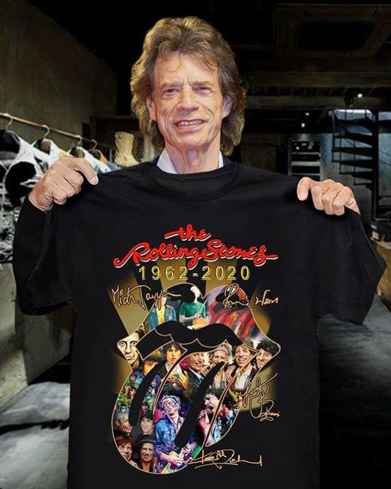 Music Trending The Rolling Stones English Rock Band The Mouth Singers BlackT Shirt Men/ Woman S-6XL Cotton