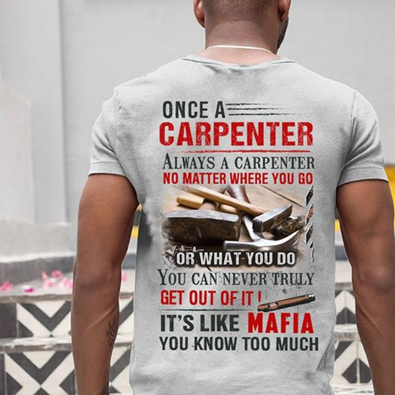 Once A Paramedic Always A Paramedic No Matter Where You Go Or What You Do T Shirt Grey B4