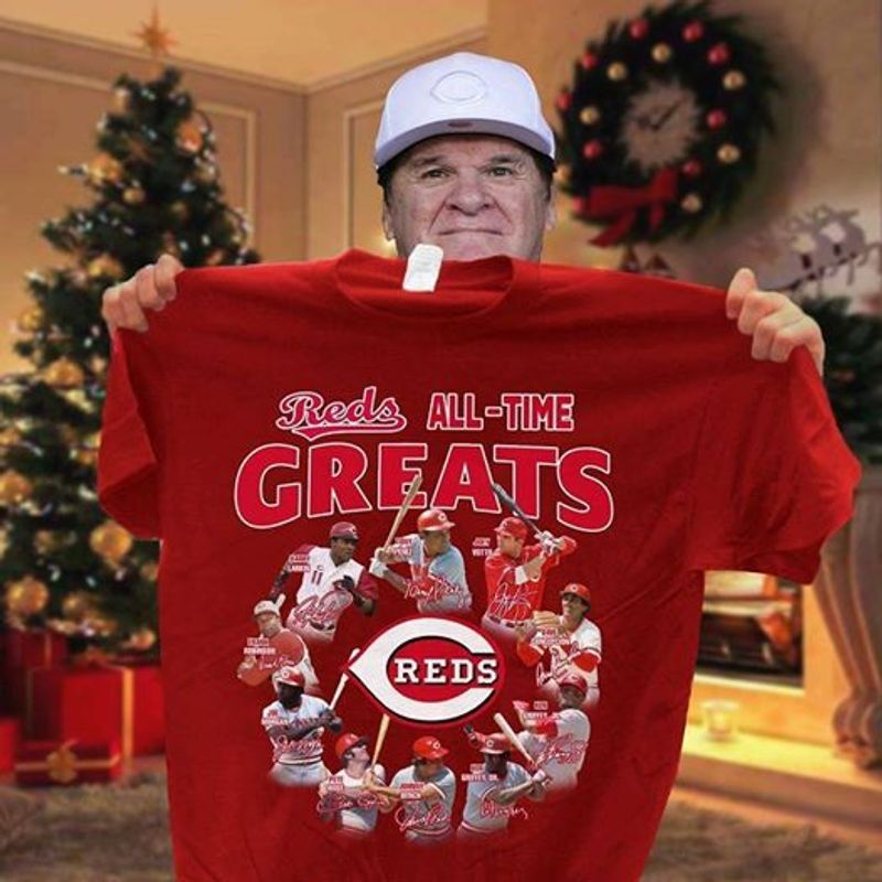 Reds All Time Greats Reds   T-shirt Red B7