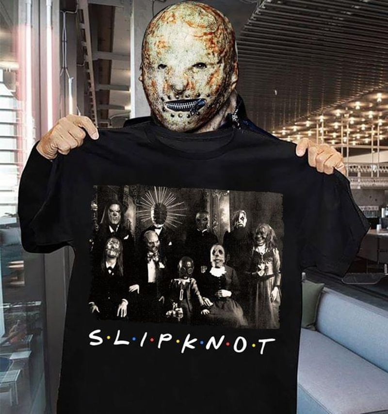 Slipknot American Heavy Metal Band Picture Gift For Music Lovers BlackT Shirt Men/ Woman S-6XL Cotton