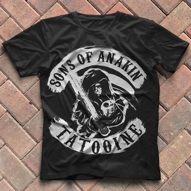 Sons Of Anakin Tatooine T-shirt Black A4