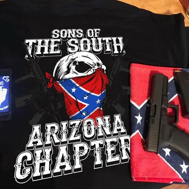 Sons Of The South Arizona Chapter T-shirt Black A4