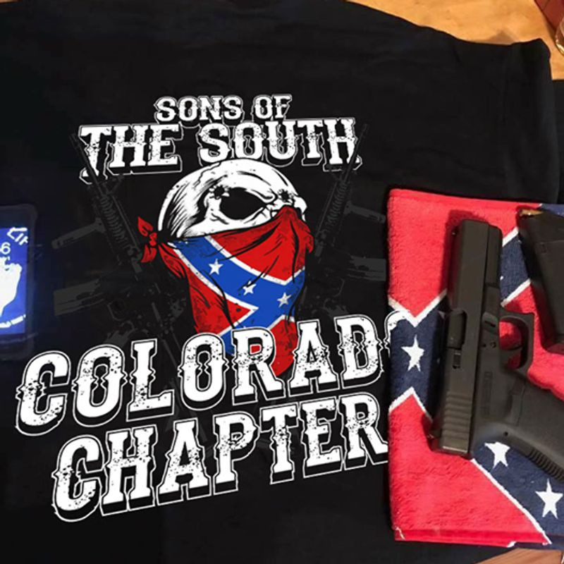 Sons Of The South Colorad Chapter Tshirt Black A2