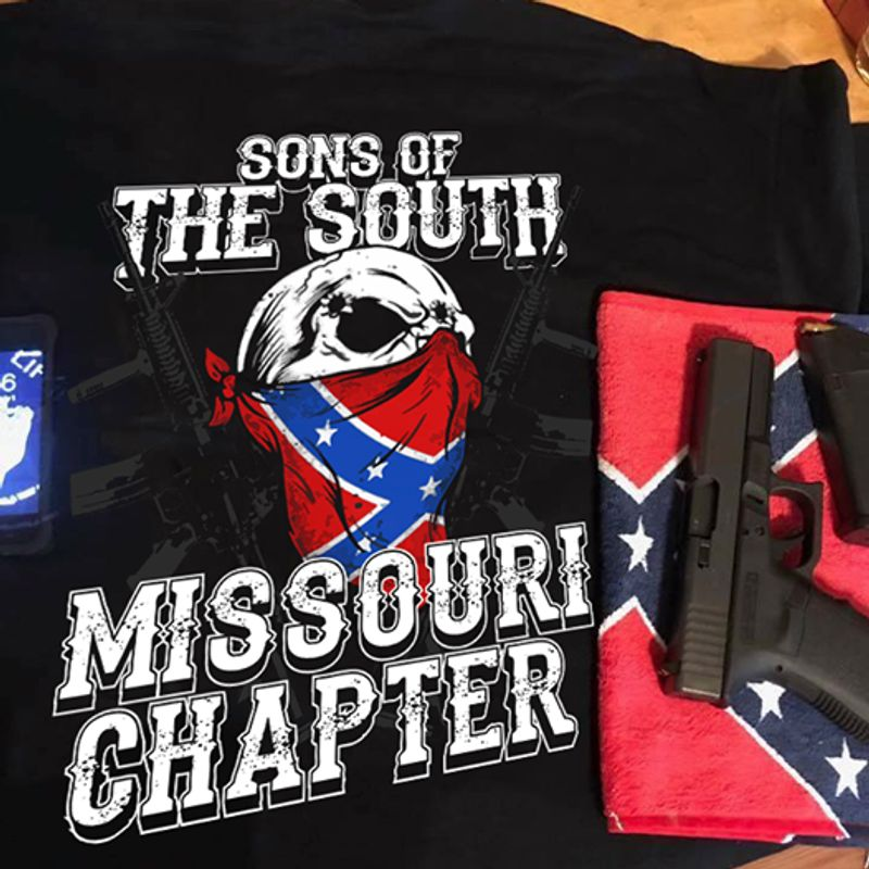 Sons Of The South Missouri Chapter T-shirtblack A4