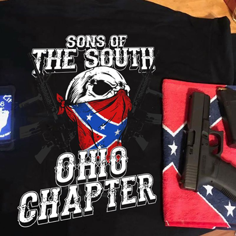 Sons Of The South Ohio Chapter   T-shirt Black B1