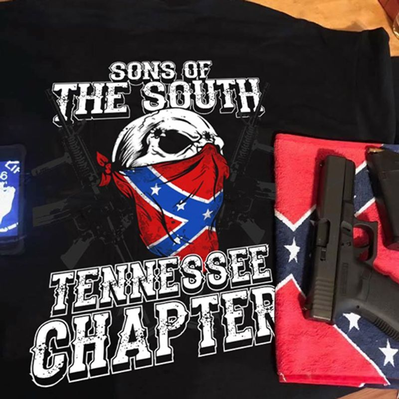 Sons Of The South Tennessee Chapter T-shirt Black A4
