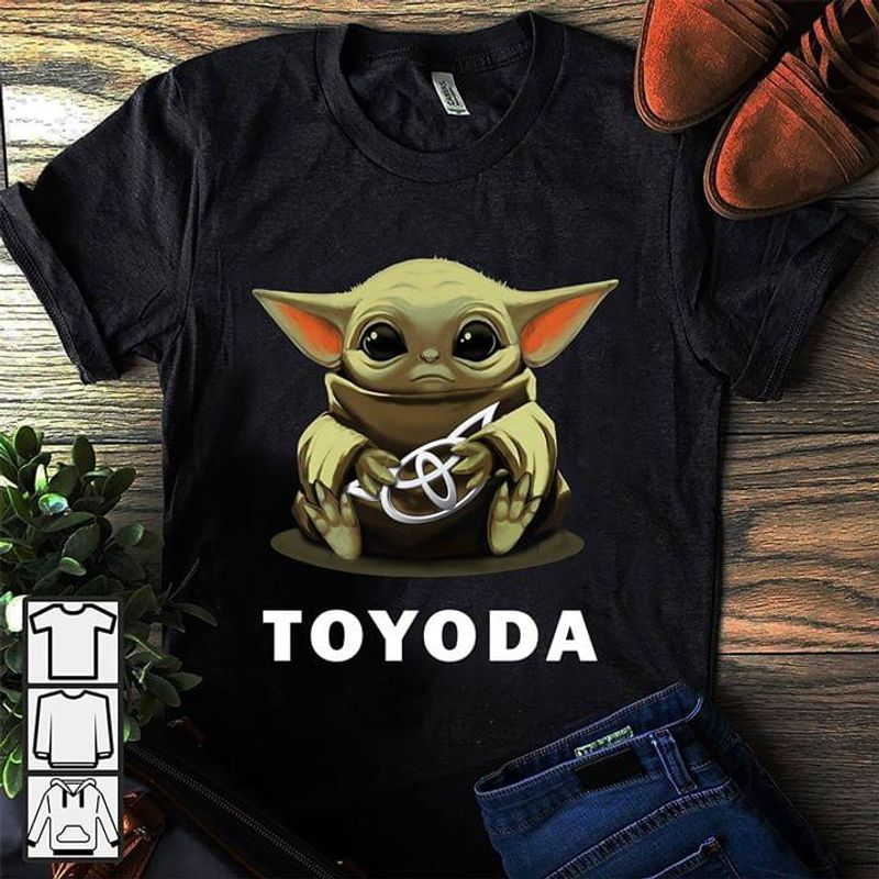 Star Wars Yoda Best Dad In The Galaxy Father's Day Gift T Shirt Black S-6XL Men And Women Clothing