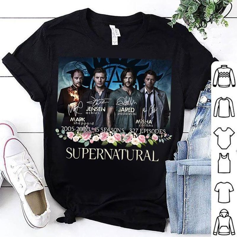 Supernatural Series A Gift For Movie Lovers Black Men And Women Shirt