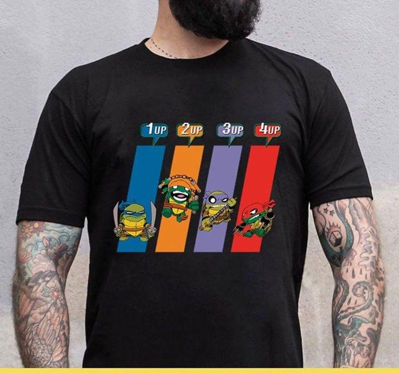 Teenage Mutant Ninja Turtles Superhero Tmnt Awesome Gift For Teenage Mutant Ninja Turtles Lovers Black T Shirt S-6xl Mens And Women Clothing