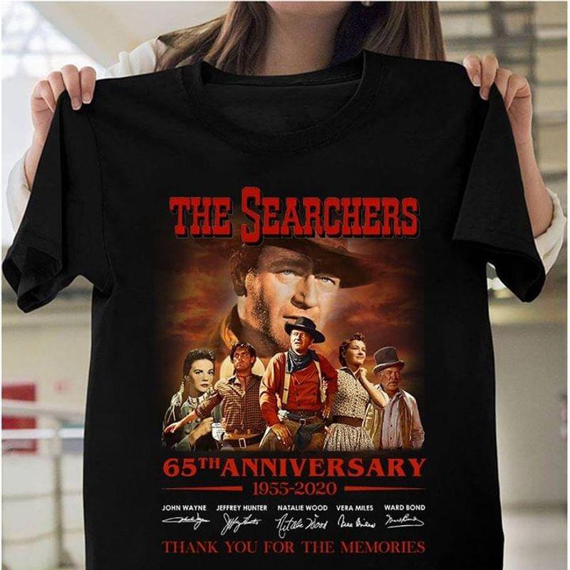 The Searchers Fans Thank You For The Memories Signature Black T Shirt Men/ Woman S-6XL Cotton