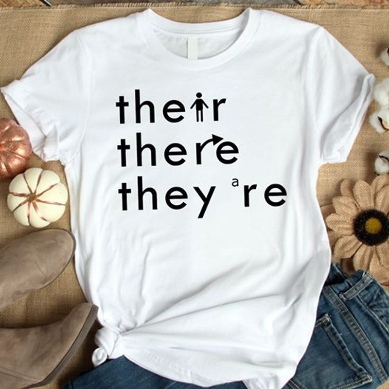 THERE WHERE THEY ARE T Shirt White C2