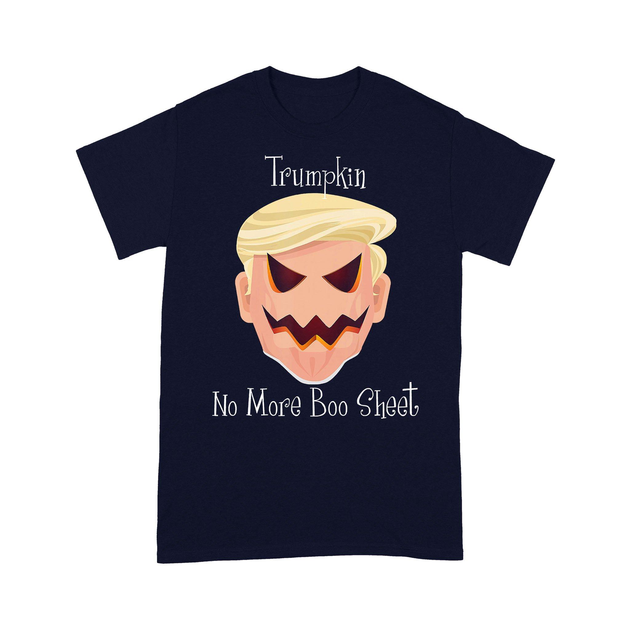 Trumpkin No Boo Sheet Halloween T-shirt