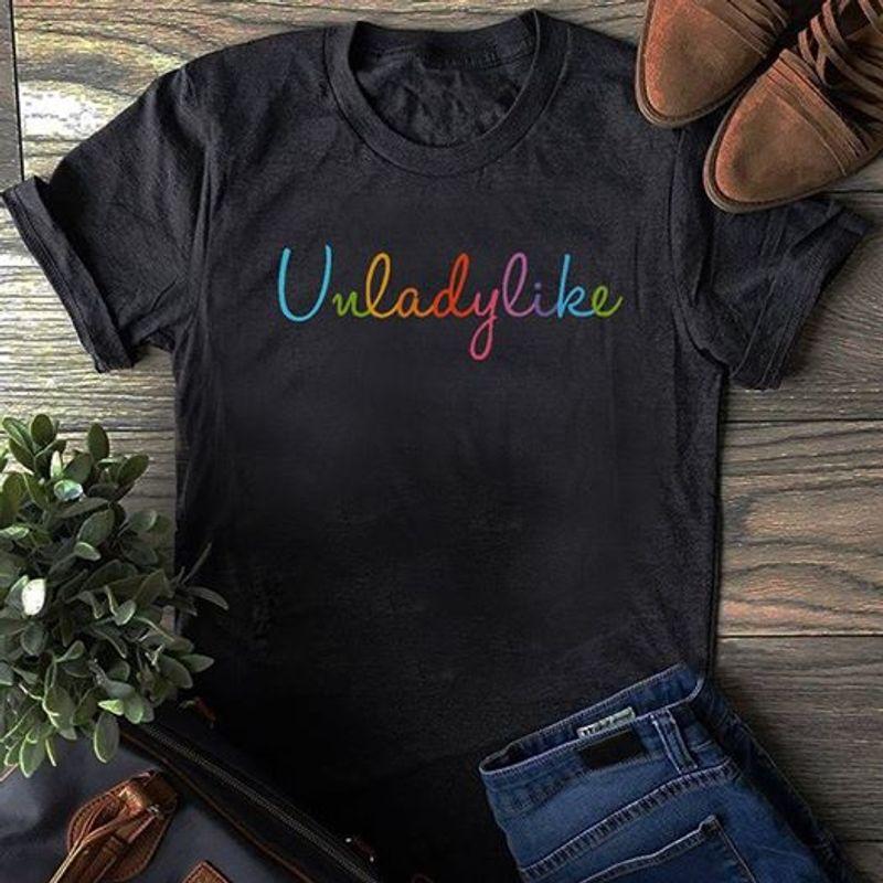 Unladylife T-shirt Black A8