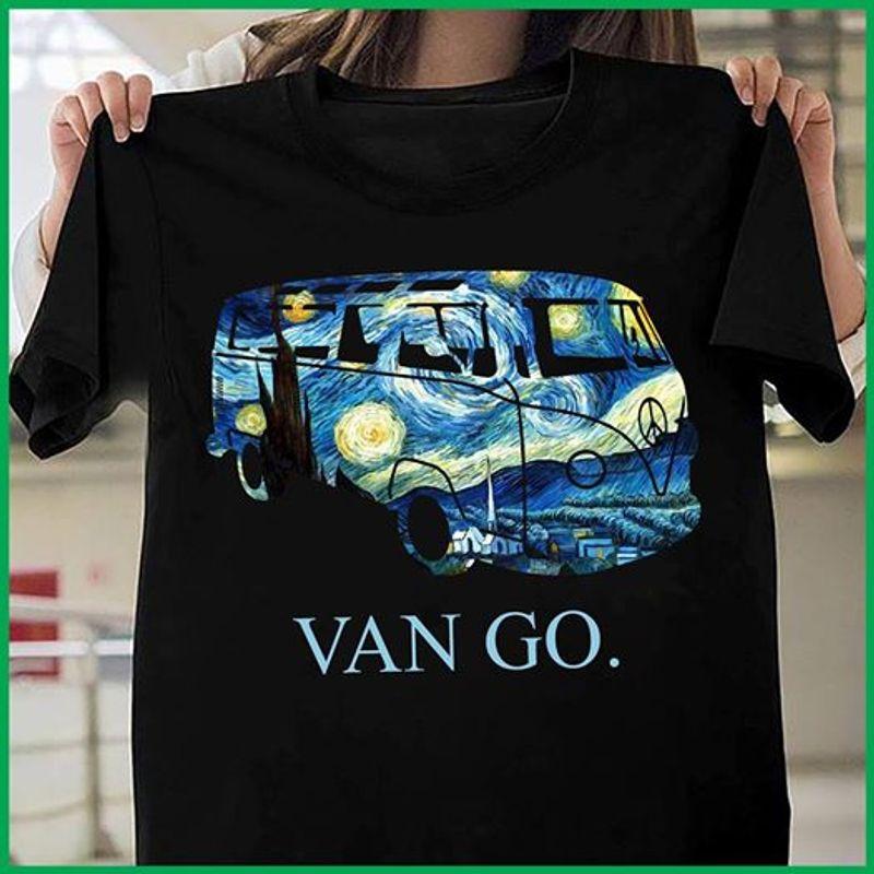 Van Go Car T-shirt Black A8