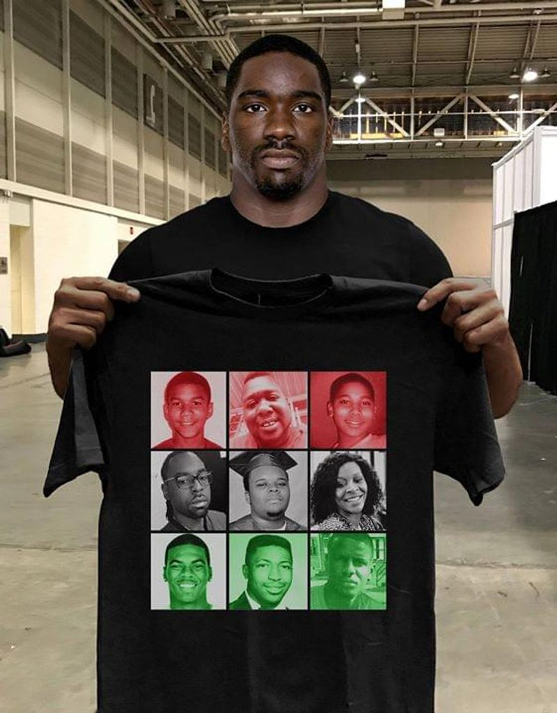 Victims Of Police Brutality Black Lives Matter T Shirt S-6XL Mens And Women Clothing